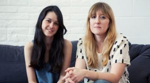 Emily Sugihara (left) founder of Baggu  Ellen van der Laan (right)