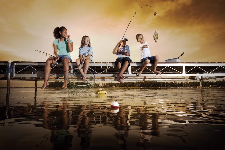 人生要釣很多條小魚,還是一條大魚?