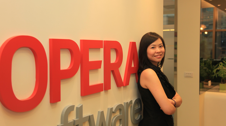從秘書出身到跨國科技公司公關長 — Opera 亞太區公關長 Peko Wan