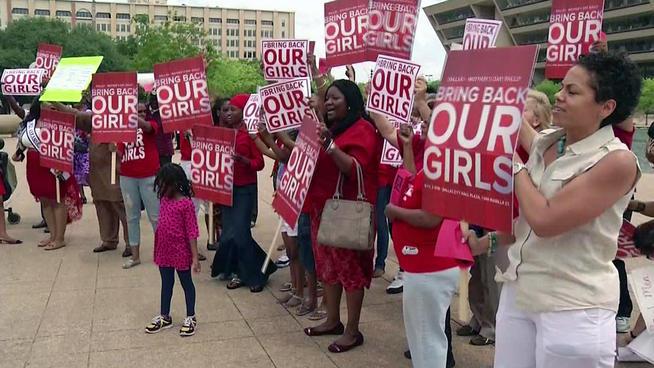#Bring back our girls 讓她們平安回來