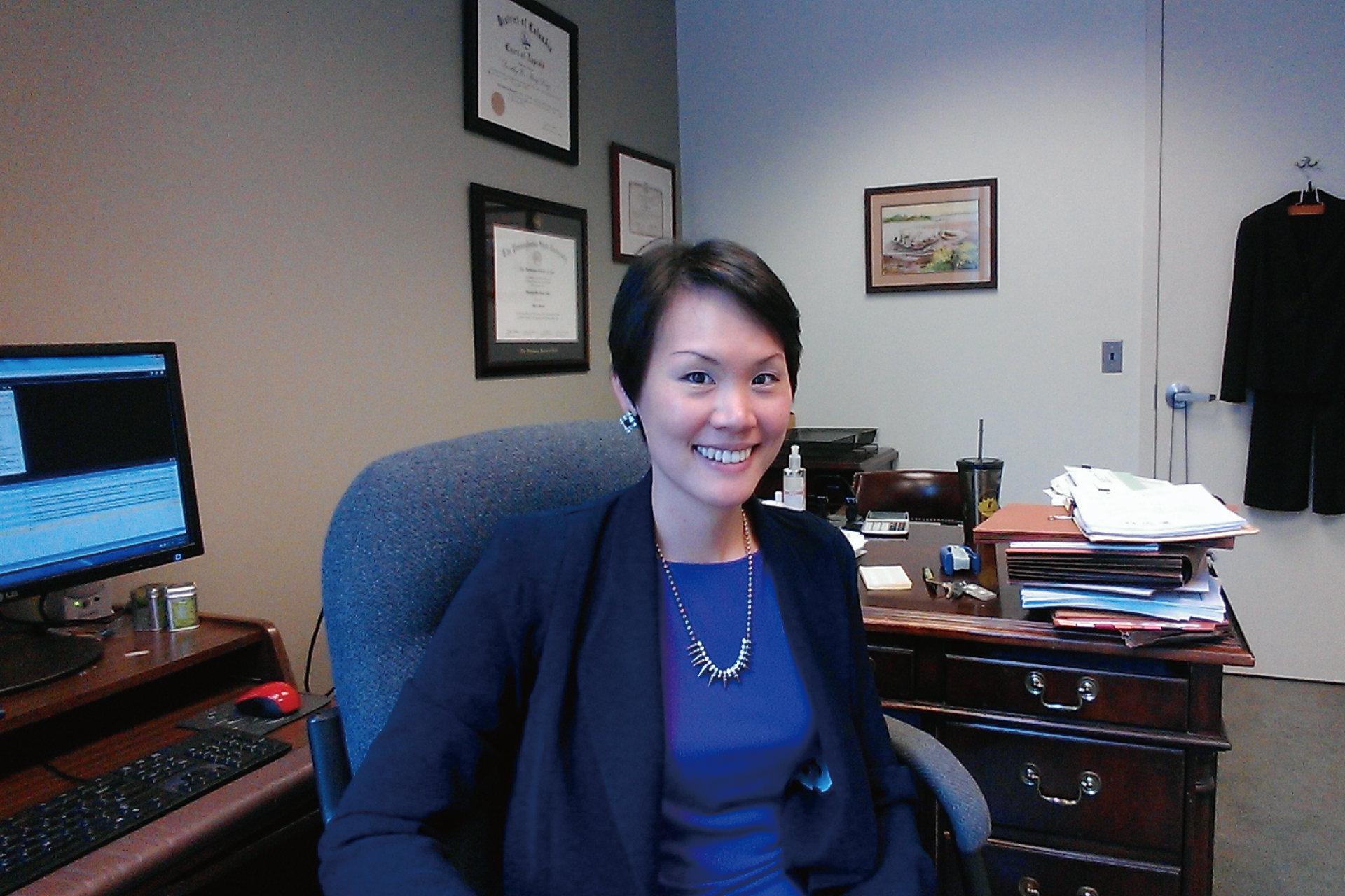 在美國的少數族群,如何展現自己的價值-華盛頓執業律師 Dorothy Deng