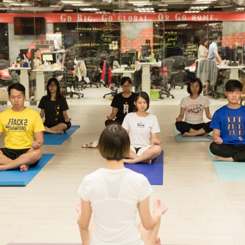 周五瑜珈課