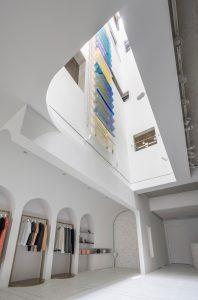 lightwell空間天井